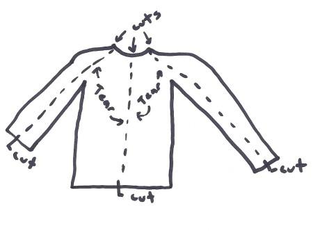 camicia disegno